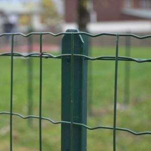 Poteau T pour clôture grillage soudé