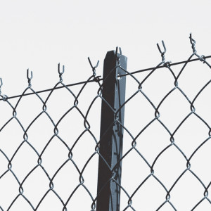 Piquet Té pour clôture grillage simple torsion