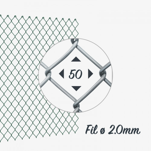 Grillage simple torsion Galva fil 2mm